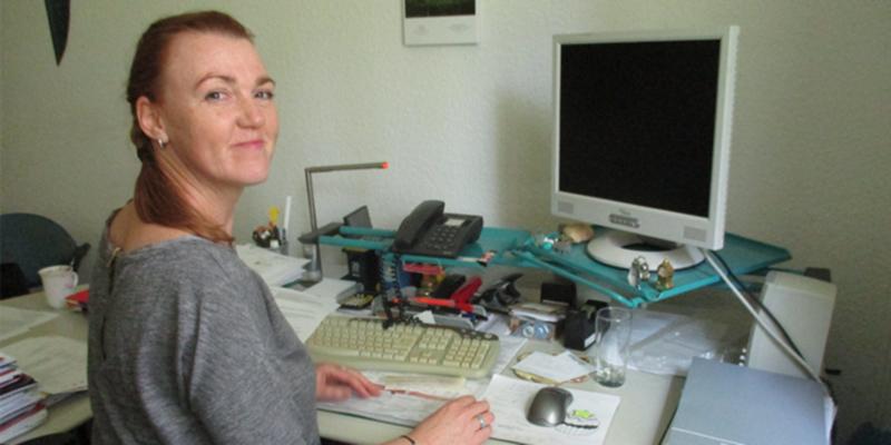 Leiterin Elke Posselt der Therapeutische Gemeinschaft Griebsee